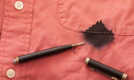 کپڑوں سے سیاہی کا دھبا دھونے کا ایک آسان نسخہ
