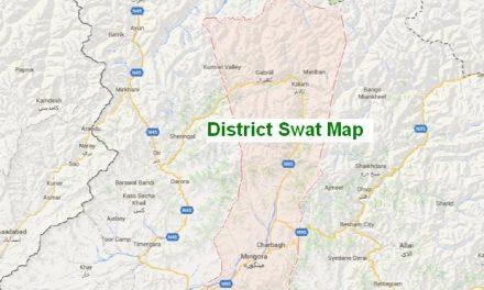 سوات میں اختیارات کی انتظامی تقسیم