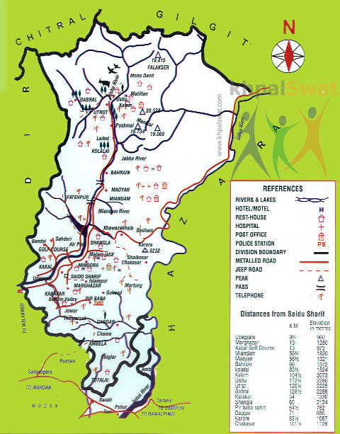 سوات کے انتظامی تقسیم کار کا تاریخی جائزہ