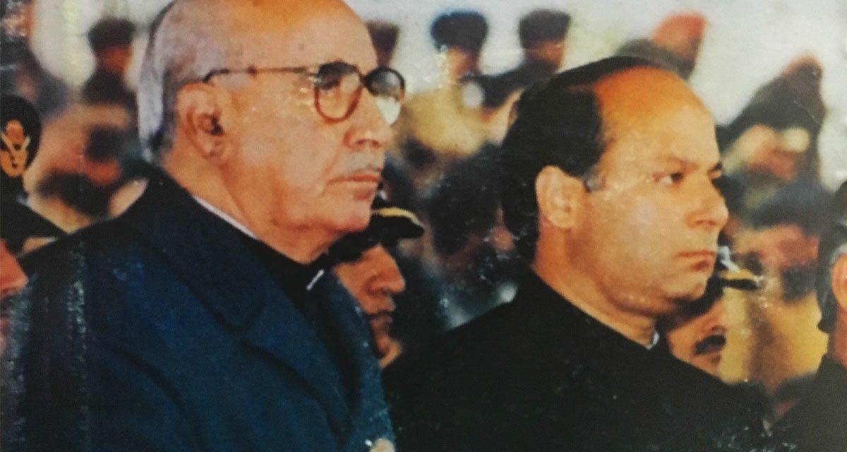 سابق صدر غلام اسحاق خان