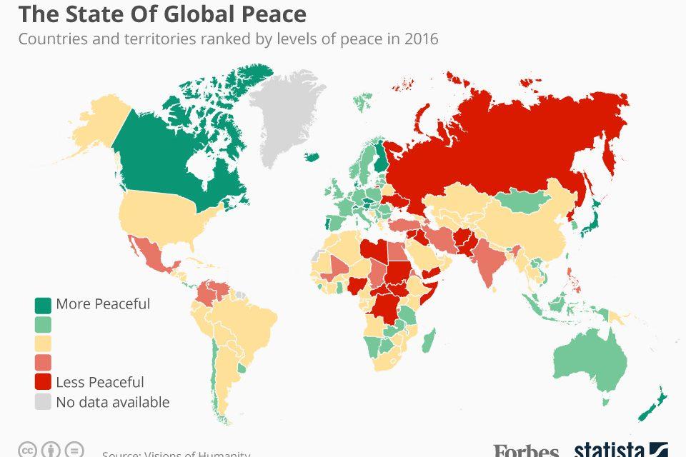 دنیا کے دس خطرناک ترین ممالک