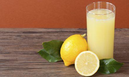لیموں کا شربت، بے چینی دور کرنے کے لیے مفید
