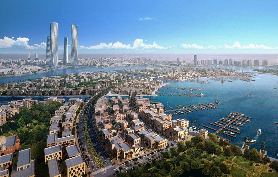 ورلڈ کپ 2022ء کے لئے مختص شہر جو ابھی بنا ہی نہیں