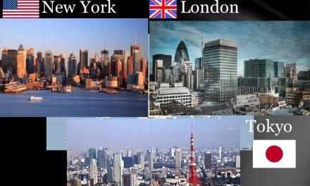 نیویارک، لندن اور ٹوکیو بارے جانئے کچھ نیا