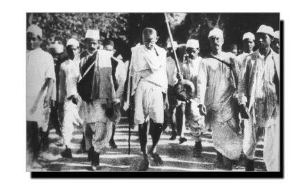آٹھ مارچ، جب گاندھی جی نے سول نافرمانی کی تحریک شروع کی