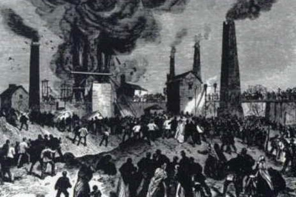 چھبیس اپریل، کوئلے کی کان کی تاریخ کا ہولناک حادثہ ہوا