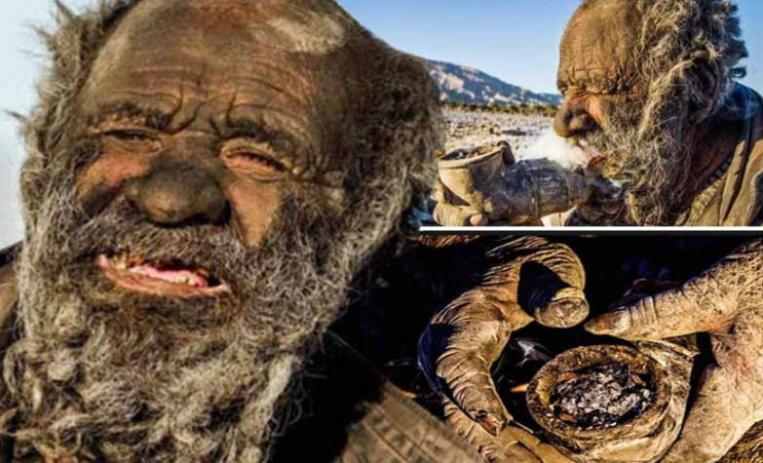 دنیا کا گندا ترین آدمی، جو 60 سال سے نہیں نہایا