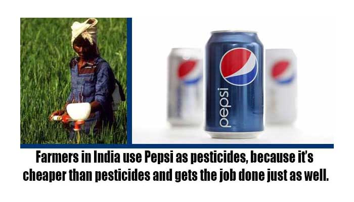 جانتے ہیں کہ پیپسی کولا بہترین جراثیم کُش دوا ہے؟