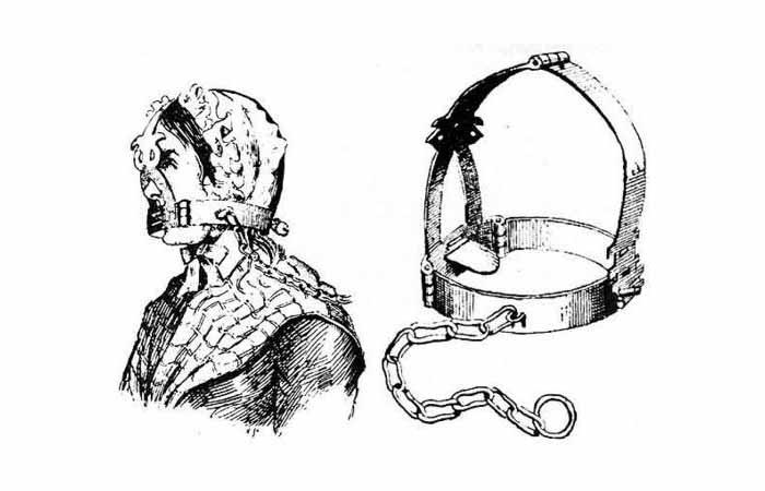 قرون وسطیٰ میں عورتوں کو یوں خاموش رکھا جاتا تھا