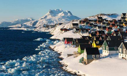 گرین لینڈ، دنیا کا سب سے بڑا جزیرہ