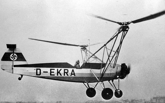 26 جون، جب تاریخ کے پہلے ہیلی کاپٹر نے اڑان بھری