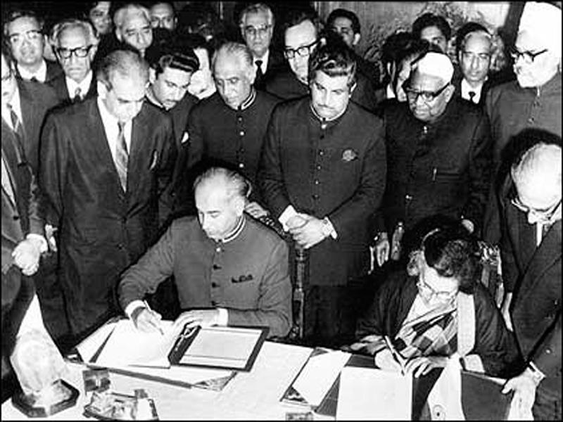 دو جولائی، جب پاک بھارت جنگ کا باقاعدہ خاتمہ ہوا
