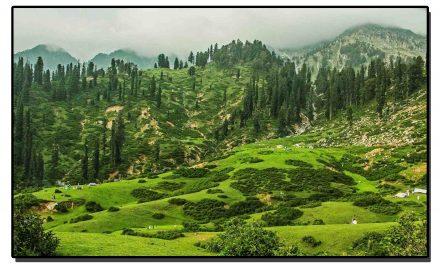سحر طاری کر دینے والا سیاحتی مقام گبینہ جبہ