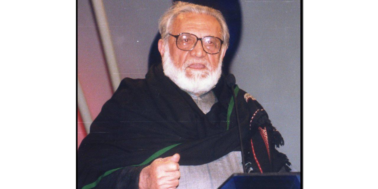 بائیس اگست، بابا اشفاق احمد کا یومِ پیدائش