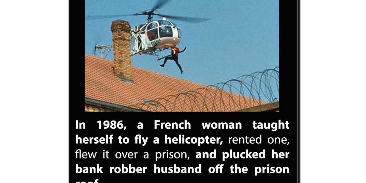 دنیا کی دلیر ترین بیوی کی عجیب و غریب کہانی