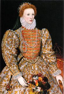 7 ستمبر، ملکہ الزبتھ اول کا یوم پیدائش
