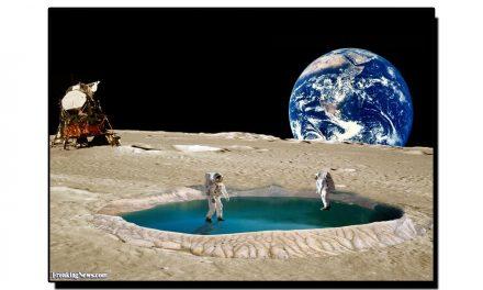 چاند پر پانی ڈُبانے کی صلاحیت کھو بیٹھتا ہے