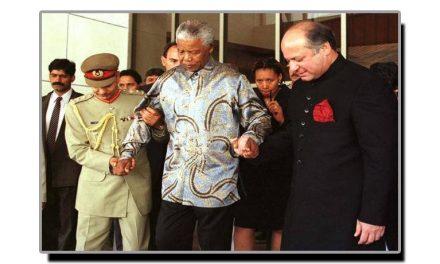 تین اکتوبر، جب نیلسن منڈیلا کراچی آئے