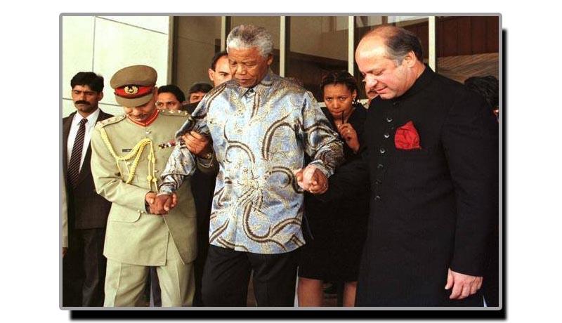 3 اکتوبر، جب نیلسن منڈیلا کراچی آئے