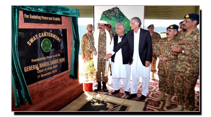 سوات میں فوجی چھاؤنی کا قیام اور علاقے کے مسائل