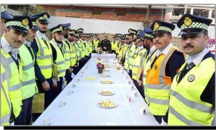 ٹریفک پولیس سوات