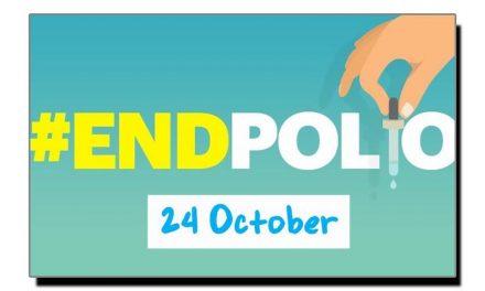 چوبیس اکتوبر، پولیو کا عالمی دن