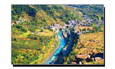 سوات کا خوبصورت سیاحتی مقام مدین