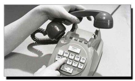 اٹھارہ نومبر، جب ٹیلی فون میں پہلی بار پُش بٹن کا استعمال کیا گیا