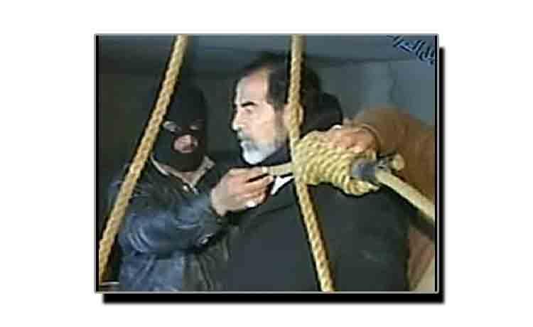 تیس دسمبر، جب صدام حسین کو تختۂ دار پر لٹکایا گیا