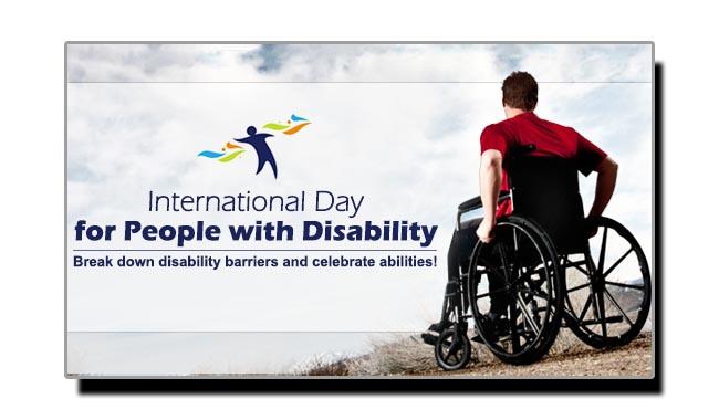 تین دسمبر، معذور افراد کا عالمی دن