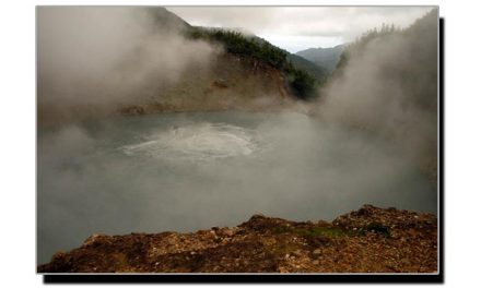 یہ ہے دنیا کی دوسری بڑی اُبلتی ہوئی جھیل