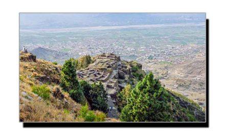 راجا گیرا کے تاریخی قلعہ پر احسان علی خان کی ویڈیو رپورٹ