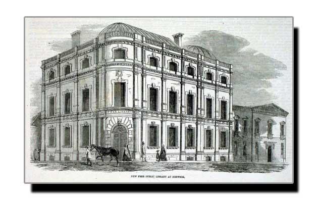 پہلی عوامی میونسپل لائبریری بارے عجیب و غریب معلومات