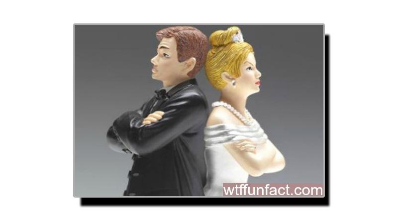 کن شادی شدہ جوڑوں میں طلاق کی شرح زیادہ ہے؟