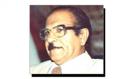 چھے اپریل، ڈاکٹر نبی بخش خان بلوچ کا یومِ وفات