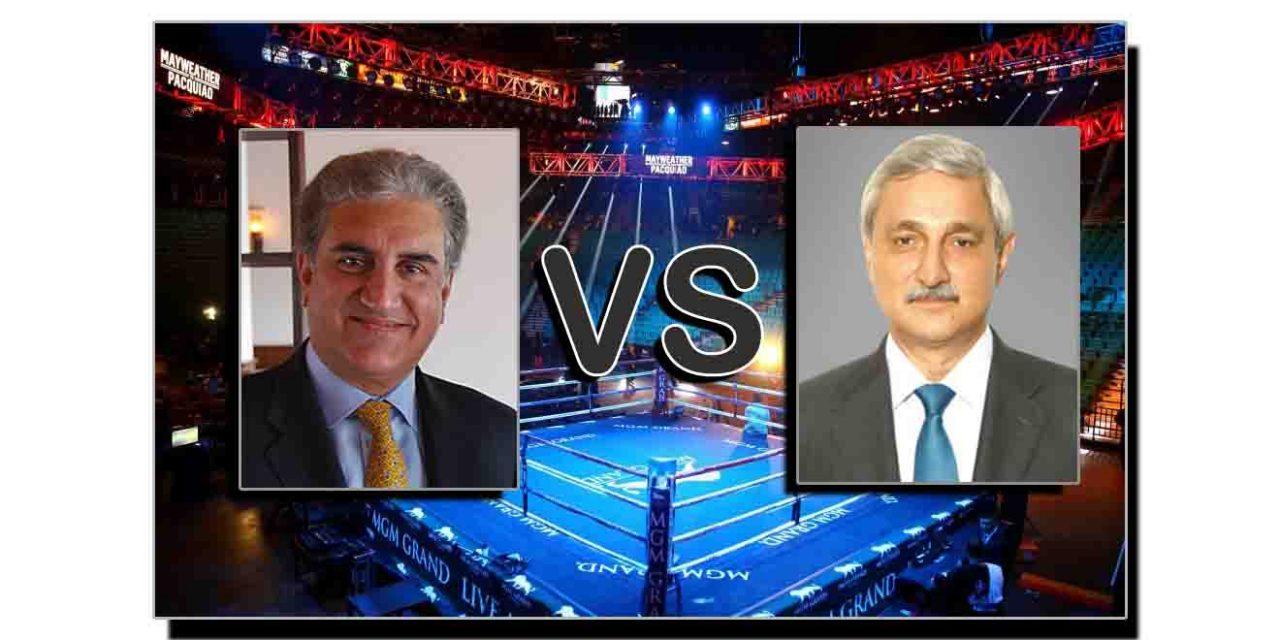 جہانگیر ترین بمقابلہ شاہ محمود قریشی
