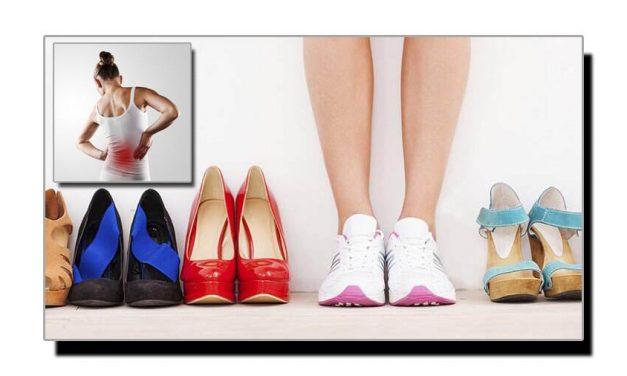 آپ کے پسندیدہ جوتے کمر درد کی وجہ ہوسکتے ہیں