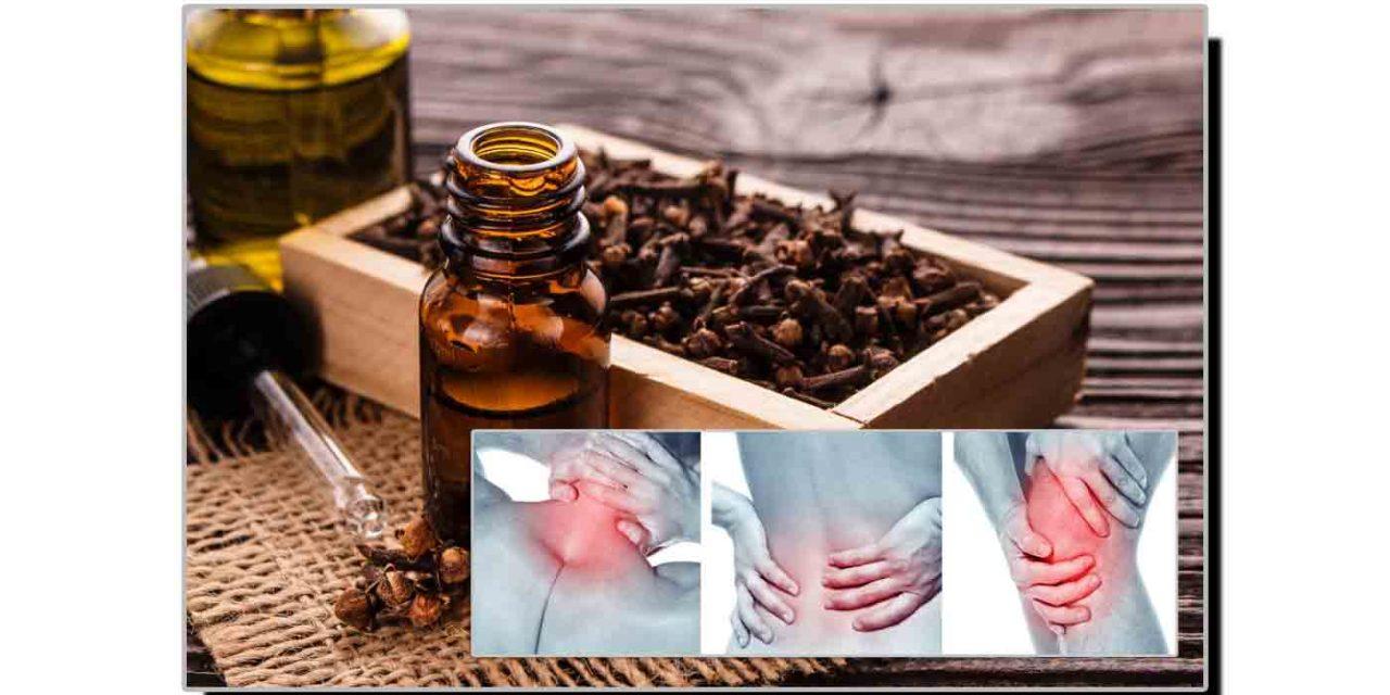 لونگ کا تیل جوڑوں کے درد کا علاج ہے
