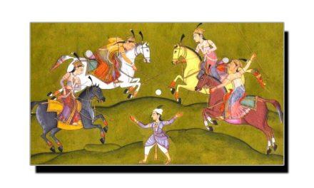 چوگان، مغل شہنشاہ اکبر کا پسندیدہ کھیل