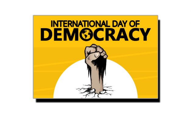 پندرہ ستمبر، عالمی یومِ جمہوریت