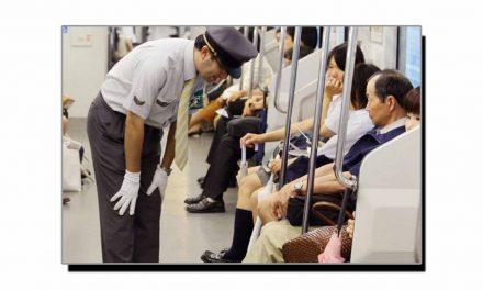 جاپان، ٹرین لیٹ ہونے پر مثالی معافی مانگی جاتی ہے