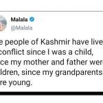 ملالہ کی ٹویٹ عالمی ضمیر جگا گئی
