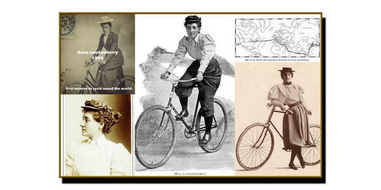چوبیس ستمبر،جب پہلی خاتون سائیکلسٹ نے دنیا کے گرد چکر مکمل کیا
