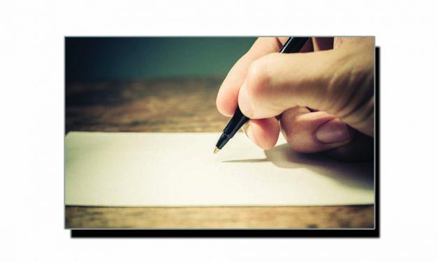 کاغذ اور لکھاری