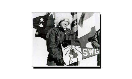 20 فروری، انٹارکٹکا میں قدم رکھنے والی اولین خاتون