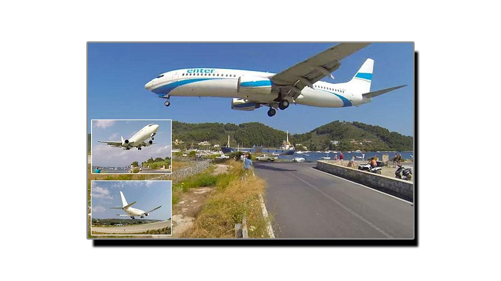 سکیاتھوس، دنیا کا خطرناک ترین ائیرپورٹ