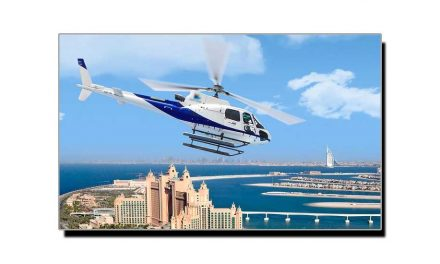 """دوبئی میں ہیلی کاپٹر بھی """"اُوبر"""" پر منگوایا جاسکتا ہے"""