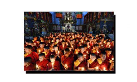تبت، بدھ متوں کی تجہیز و تکفین کی عجیب و غریب رسم