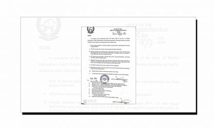 کورونا وائرس بارے ڈپٹی کمشنر سوات کا اہم نوٹیفکیشن