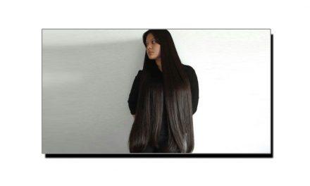 لمبے اور سیاہ بالوں کا آسان گھریلو ٹوٹکا